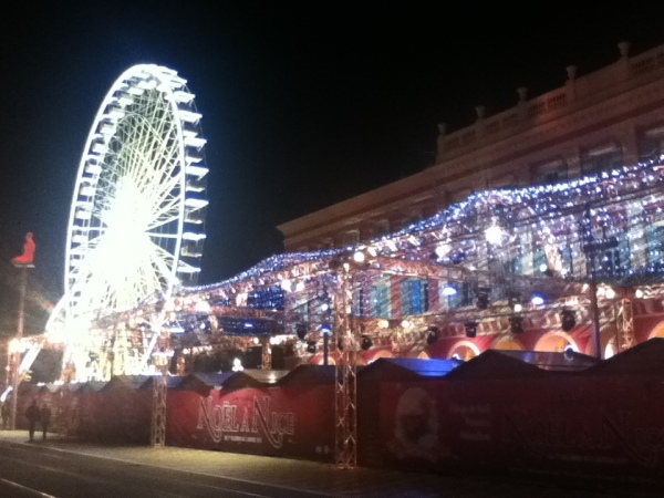 Big Wheel and markets!