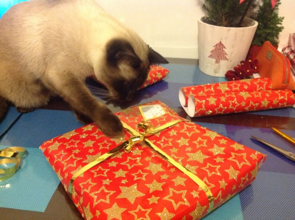 Wrapping in progress!