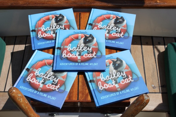 Win a pawtographed copy of my book!