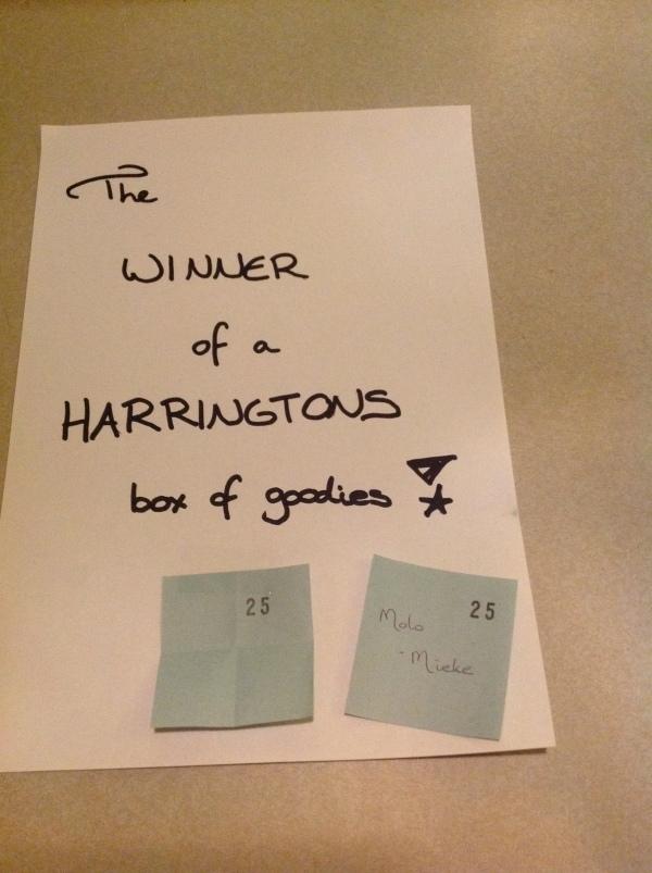 Harringtons winner