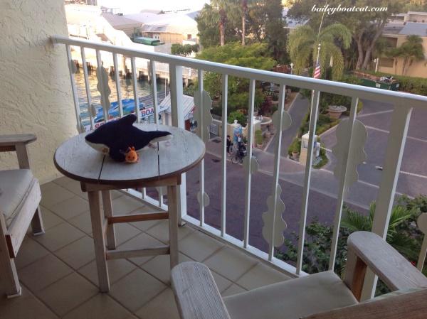 Balcony in Key West
