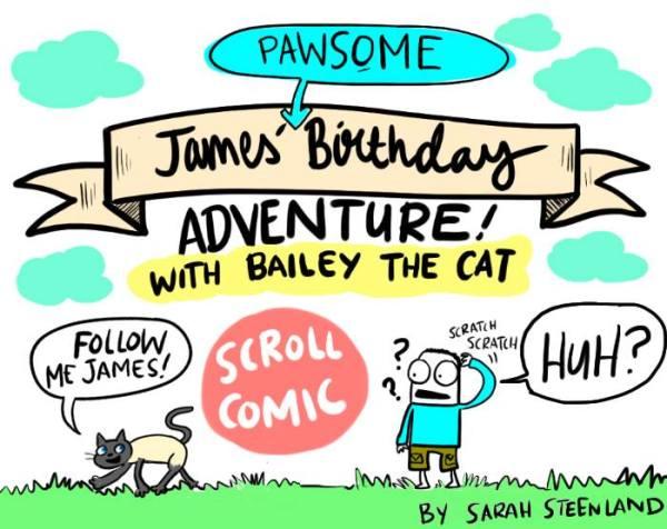 http://www.sarahsteenland.com/#!james-comic-adventure/cyy5