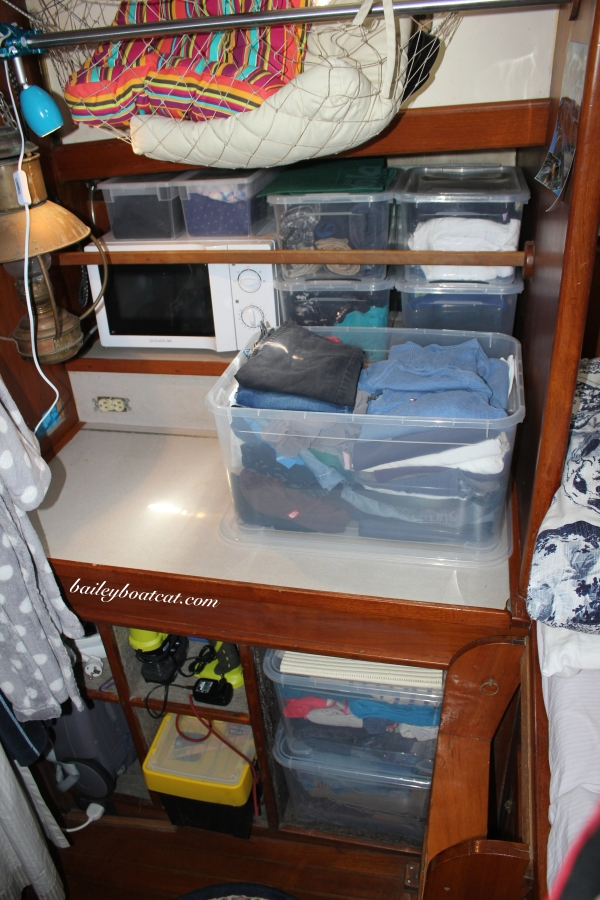 Clothes storage