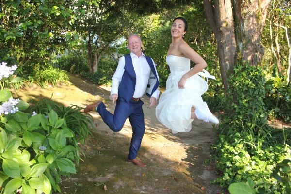wedding jump!
