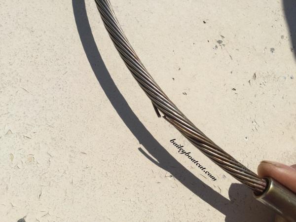 Broken strand