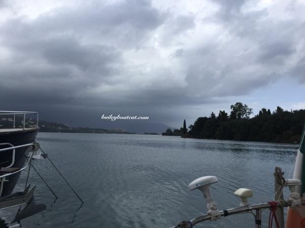Cloudy in Corfu