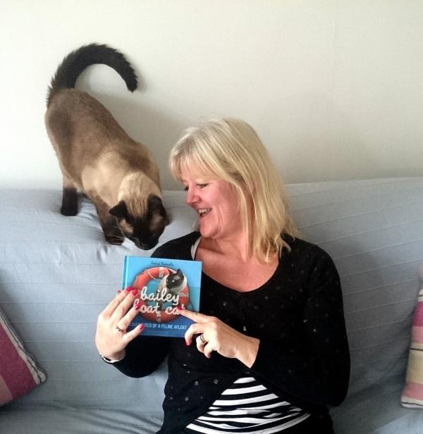 Mum's mum and me!