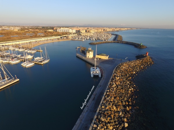 Marina from the drone